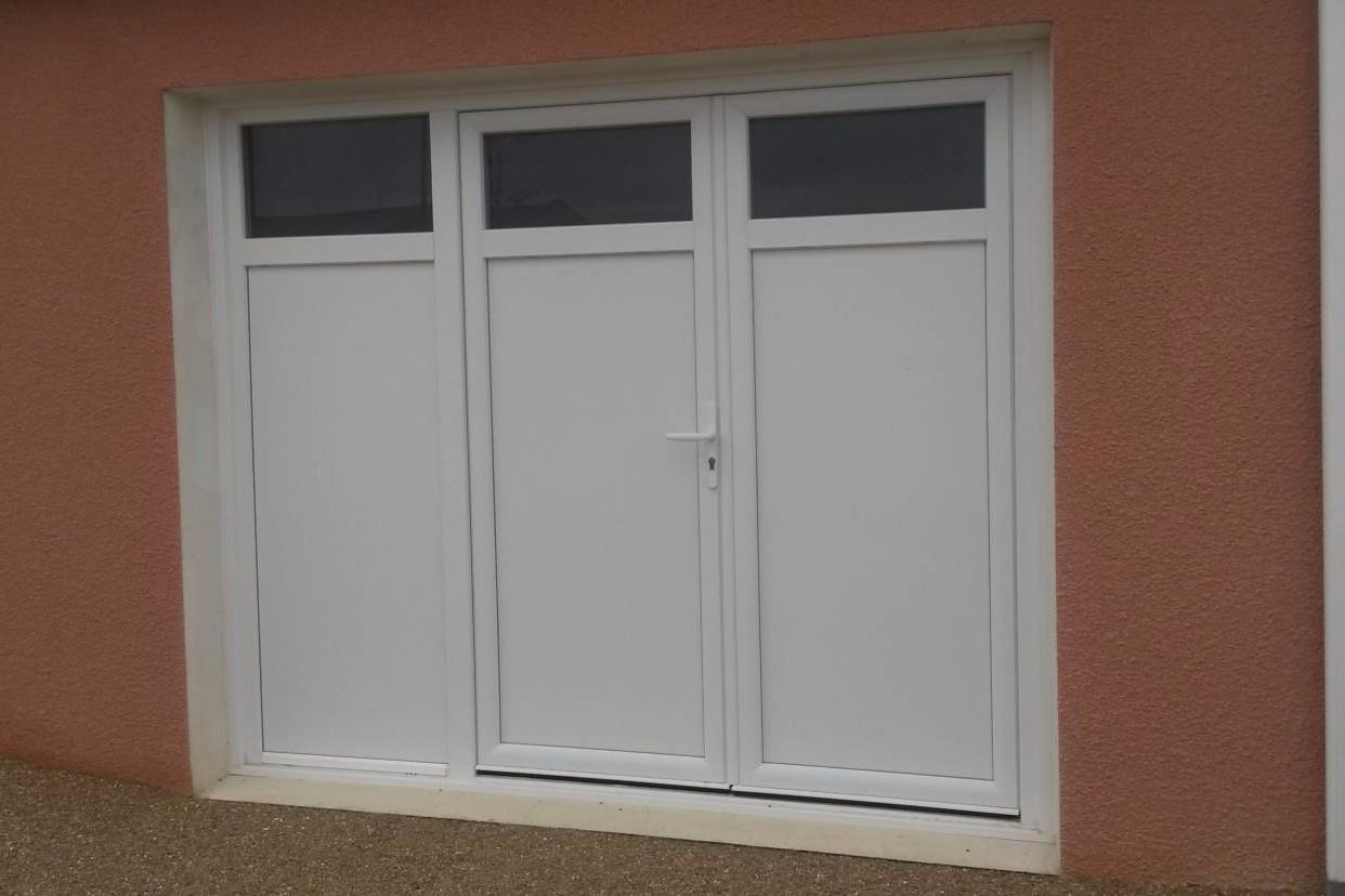 Installation Dune Porte Fenêtre En Pvc 3 Vantaux Pour Aménagement D