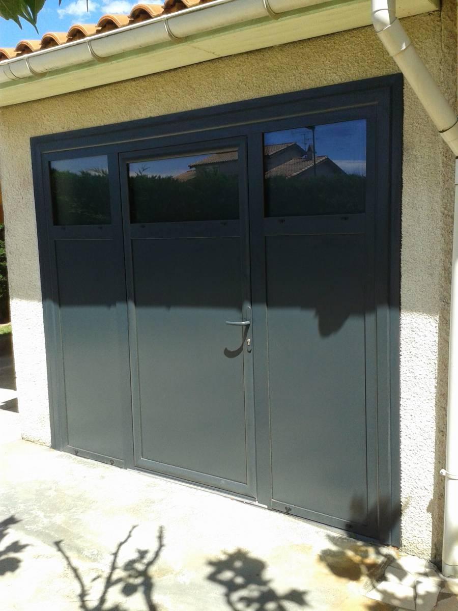 Aménagement Dun Garage En Buanderie Grâce à Une Porte En Aluminium